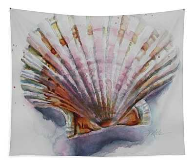 Scallop Seashell Tapestry
