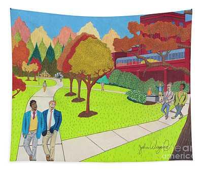 School Ties Tapestry