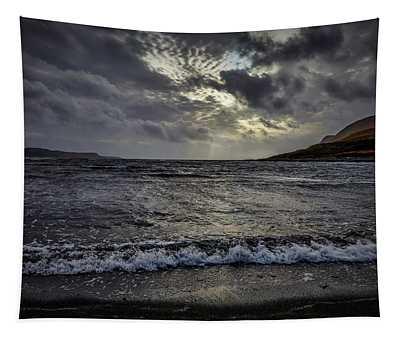 Scottish Waves #i2 Tapestry