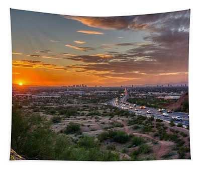 Scottsdale Sunset Tapestry
