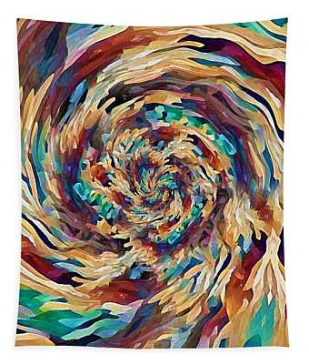 Sea Salad Swirl Tapestry