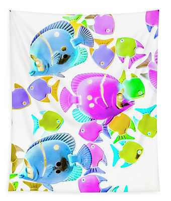 Sea Swimmers Tapestry