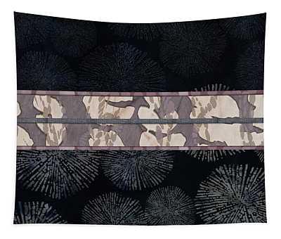 Sea Urchin Contrast Obi Print Tapestry