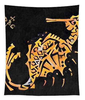 Seahorse Jewel 311018  Gothic Tapestry