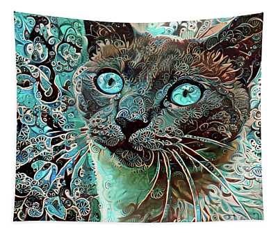Seal Point Siamese Cat  Tapestry
