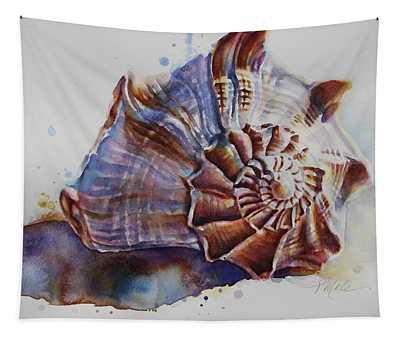 Seashell Swirl Tapestry
