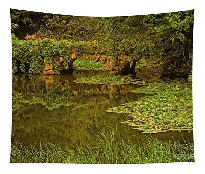 Seclusion At The Lake Tapestry