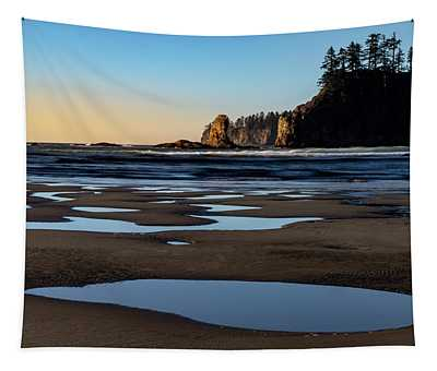 Second Beach Tapestry