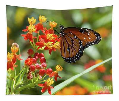 Tapestry featuring the photograph Butterfly  by Mae Wertz