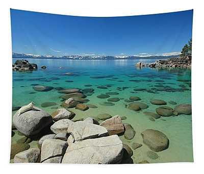 Sekani...lake Tahoe Water Protector Tapestry