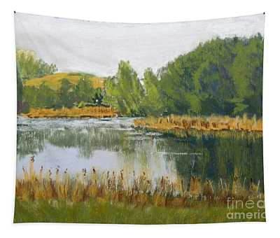 Serene Reflections Tapestry