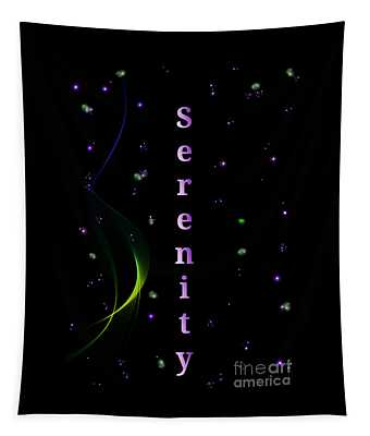 Serenity Among The Stars Tapestry