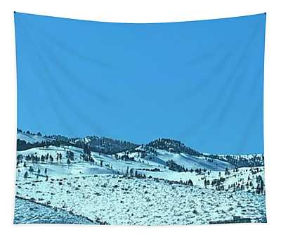 Serria Nevad Mountains Tapestry