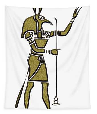 Set - God Of Ancient Egypt Tapestry
