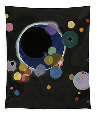 Several Circles - Einige Kreise Tapestry