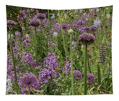 Shades Of Purple Tapestry