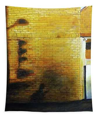 Shadows On The Wall Tapestry
