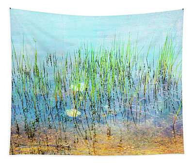 Shallow Reeds Tapestry