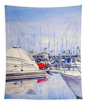 Shapes And Colors Of Alamitos Bay Tapestry