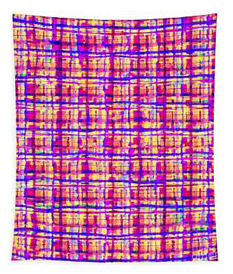 Shapes Lines And Colors - Ddf630 Tapestry