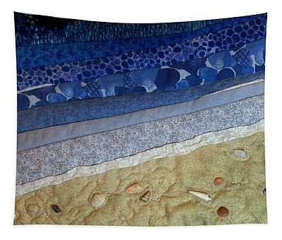She Sews Seashells On The Seashore Tapestry