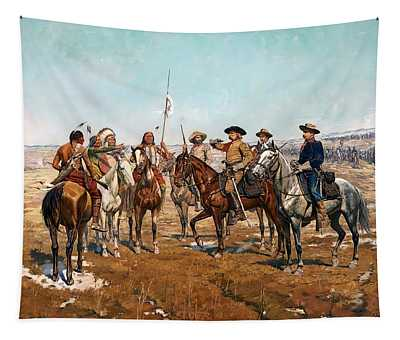 Sheridan's Campaign Custer's Demand Tapestry
