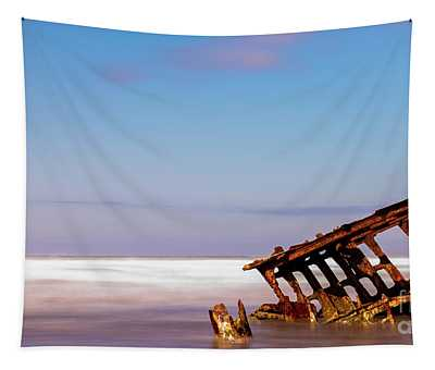 Ship Wreck Tapestry