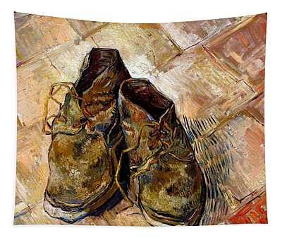 Shoes 1888 Van Gogh Tapestry