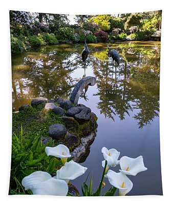 Shore Acres Reflections Tapestry