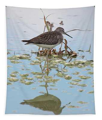 Shorebird Reflection Tapestry