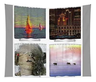 Shower Curtains Samples Tapestry