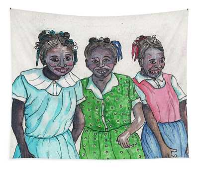 Shy Girls From South Alabama Tapestry