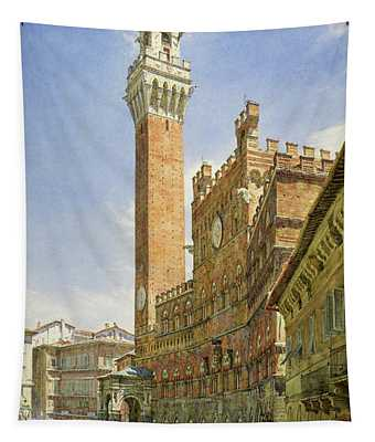 Siena, The Palazzo Publico, Town Hall Tapestry