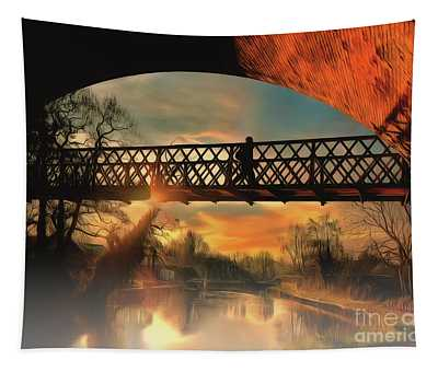 Silhouettes And Shadows Tapestry