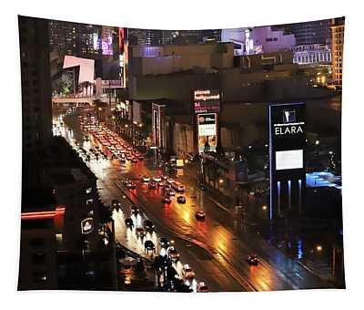 Sin City Traffic Tapestry