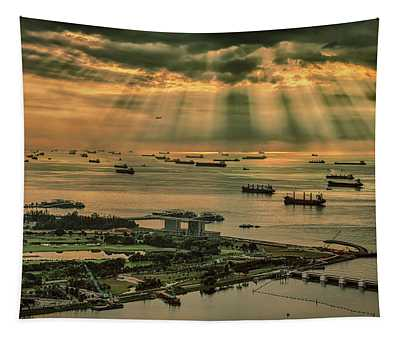 Singapore Harbour Tapestry