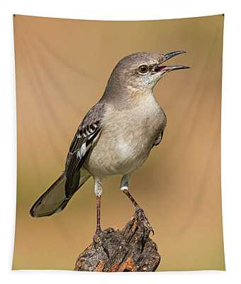 Singing Mockingbird Tapestry