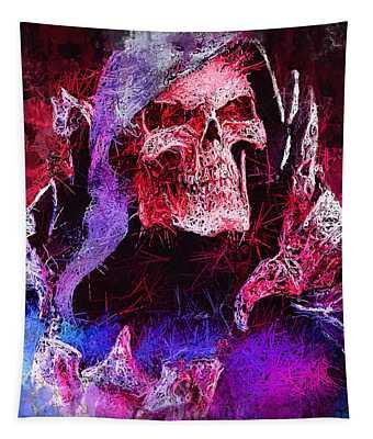 Skeletor Tapestry