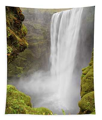 Skogafoss Iceland Tapestry