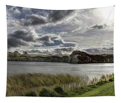 Sky At Cawfields Tapestry