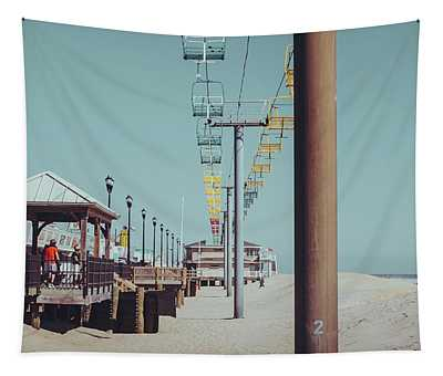 Tapestry featuring the photograph Sky Ride by Steve Stanger