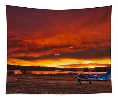 Skylane Sunrise Tapestry