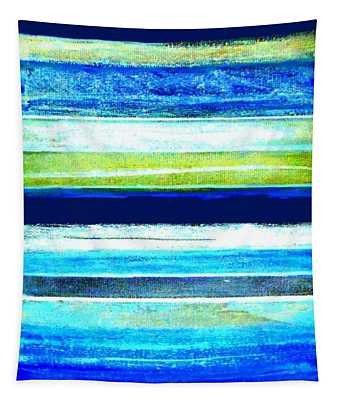 Skyscape Abstract Tapestry