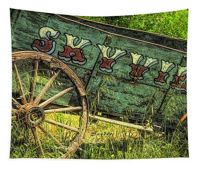 Skyview Freight Wagon  Tapestry