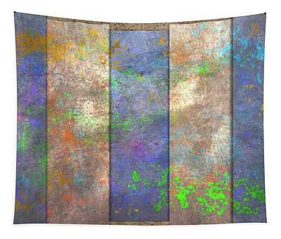 Slats And Slash Tapestry