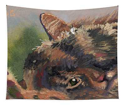 Sleep N' Peek Tapestry