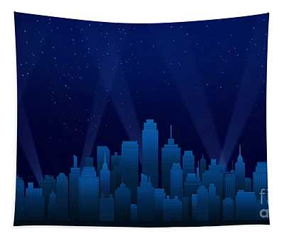 Sleeping City Tapestry