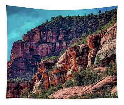 Slide Rock State Park Arizona Tapestry