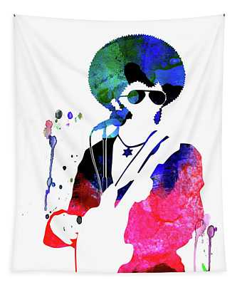 Sly And The Family Stone Watercolor Tapestry