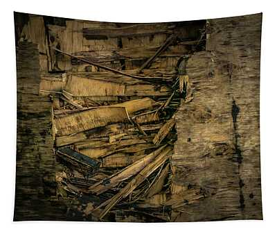 Smashed Wooden Wall Tapestry